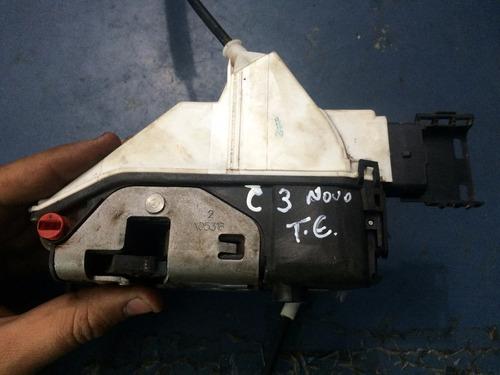 Fechadura Elétrica Traseira Esquerda C3 Novo 2014 Em Diante Original