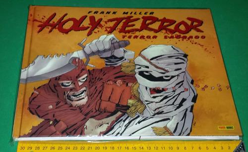 Holy Terror Sagrado Frank Miller Capa Dura Edição De Luxo Original