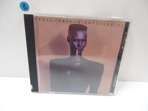 Cd Grace Jones - Nightclubbing - Importado Original