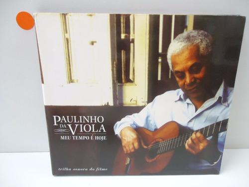Cd Paulinho Da Viola Meu Tempo É Hoje - By Trekus Vintage Original