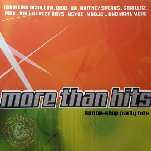 Cd U2 Aguilera Backstreet Boys More Than Hits A4 Original