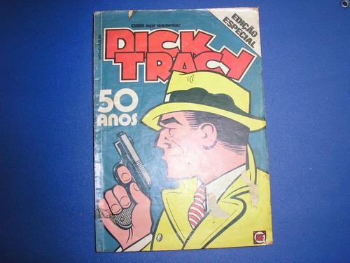 Dick Tracy Especial 50 Anos Nº 1 - Editora Rge  Original