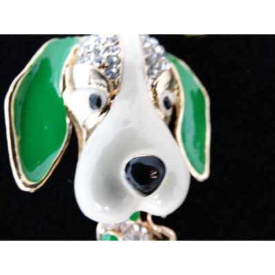 Chaveiro Dog Azul-Verde