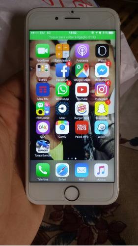iPhone 6 Dourado/gold 64gb (aceito Trocas) Original