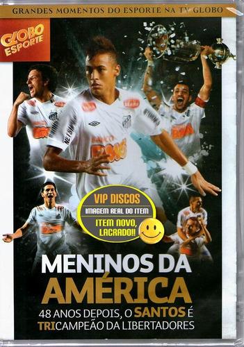 Dvd Santos Tricampeão Da Libertadores  Lacrado Raro! Original