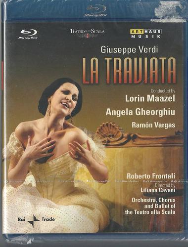 Blu-ray Giuseppe Verdi La Traviata Angela Gheorghiu Importad