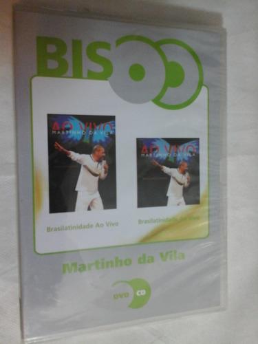 Dvd+cd Martinho Da Vila Brasilatinidade-bis- Lacrado Novo Original