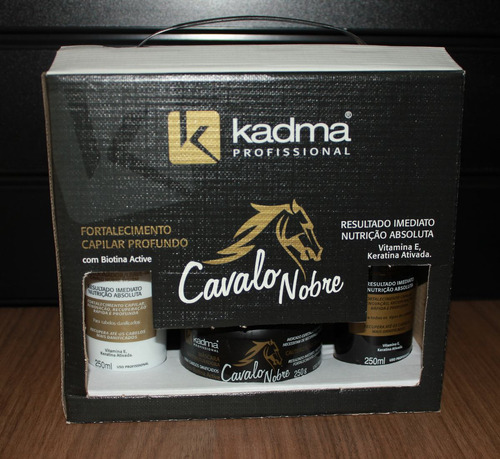 Kit Cliente Cavalo Nobre - Kadma Brasil Original