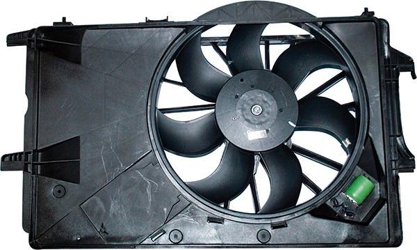 Eletroventilador Ventoinha Meriva 03 Com Defletor