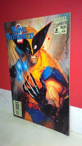 ***hq The Marvel Masterpieces # 2- Colletcion Original