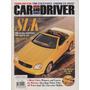 Car And Driver Jan/1997 Mercedes Slk Audi A8 Malibu Ferrari