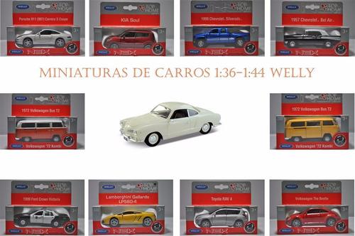 Miniaturas De Carros 1:36 - 1:44 Welly - Promoção