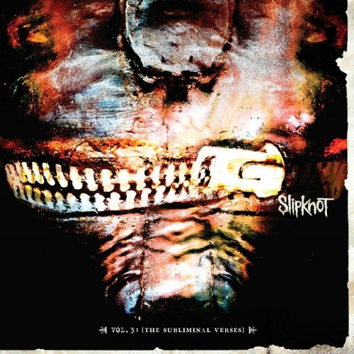 Cd - Slipknot - The Subliminal Verses - Vol 3 - Lacrado Original