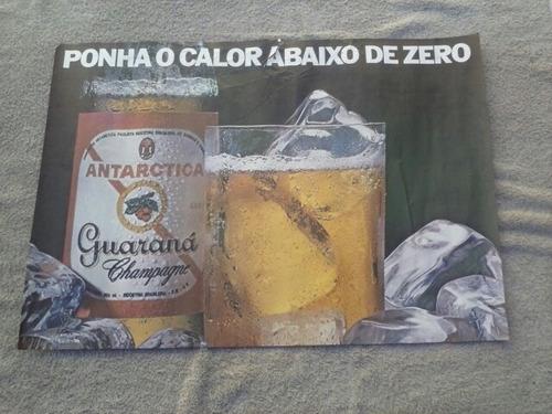 Cartaz Guaraná Antartica (  Anos 70 ) Original