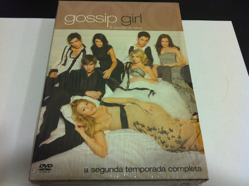 Box Dvd Gossip Girl - Segunda 2ª Temporada - Impecável Original