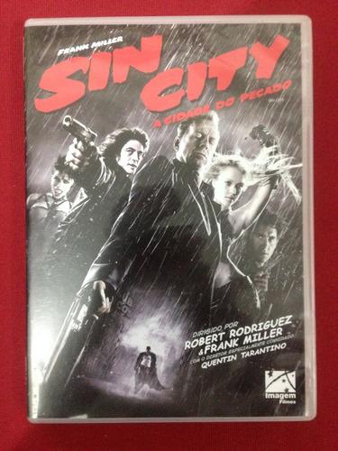 Dvd - Sin City - A Cidade Do Pecado - Frank Miller Original