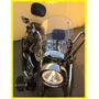 Para brisa Para Motos Custom Policarbonato Cristal 4mm.