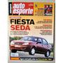 Revista Auto Esporte 426 Nov/2000 Fiesta Bora Volvo Elantra