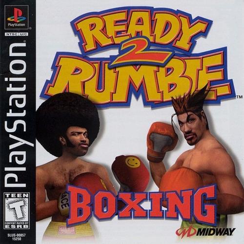 Jogo Ready 2 Rumble Boxing  Ps1 Novo Lacrado