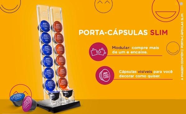 Dolce gusto porta c psula slim duplo oficial c 20 - Porta cialde nescafe dolce gusto ...