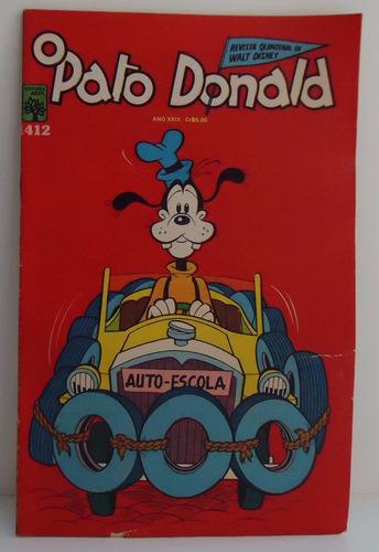 O Pato Donald - Nº 1412 - Ano 29 -1/12/78 By Trekus Vintage Original