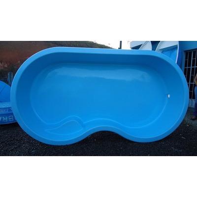 Piscina de fibra direto da f brica de a for Litros de una piscina