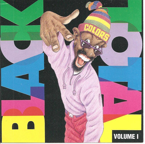 Cd - Black Total - Volume 1 - Lacrado Original