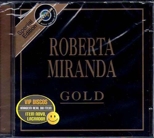 Cd Roberta Miranda Série Gold - Novo Lacrado Raro Original