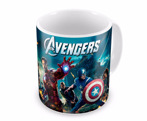 Caneca de Porcelana The Avengers