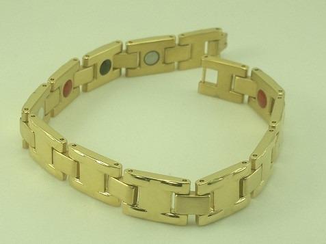Bracelete Masculino Bio Magnético  Cve5