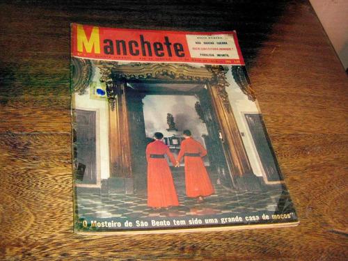 Revista Manchete Nº 4 Maio/1952 O Mosteiro De São Bento Original