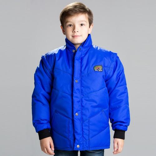 Jaqueta California Infantil Azul Royal M ( m ) Rs1