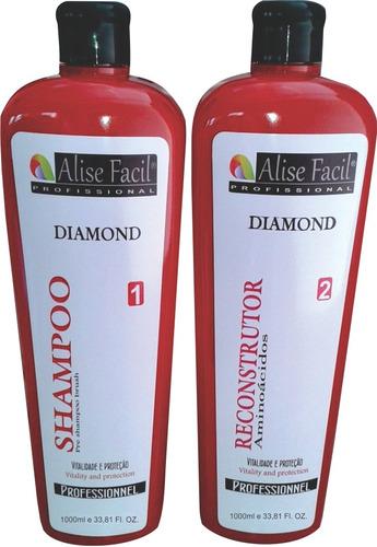 Kit Selagem Alise Diamond Aminoácidos 1 Litro