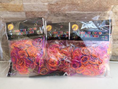 7200 Elásticos - Borrachinha Loom Bands Para Pulseiras