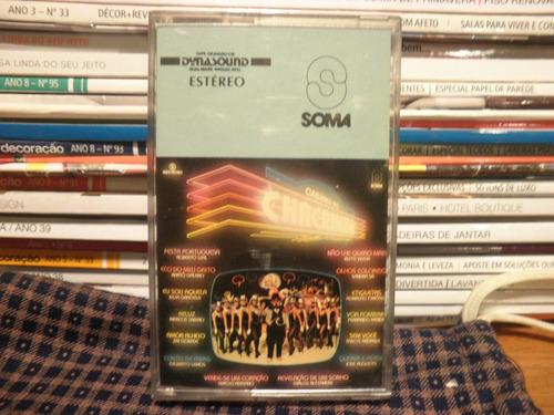 Fita K7 Cassete Cassino Do Chacrinha Original