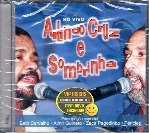 Cd Arlindo Cruz E Sombrinha Ao Vivo C/ Beth Carvalho Lacrado Original
