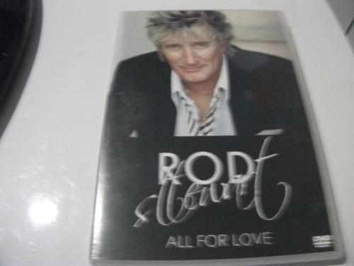 Dvd  Rod Stewart All For Love Original