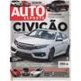 Auto Esporte Nº606 Civic Audi A3 Sedan Hb20 Jaguar Xe Bmw