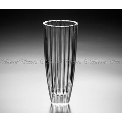 Comprar vaso grande em cristal bohemia todo lapidado - Vasos grandes cristal ...