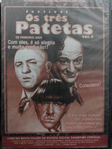Dvd Festival Os Tres Patetas Vol 2 Original