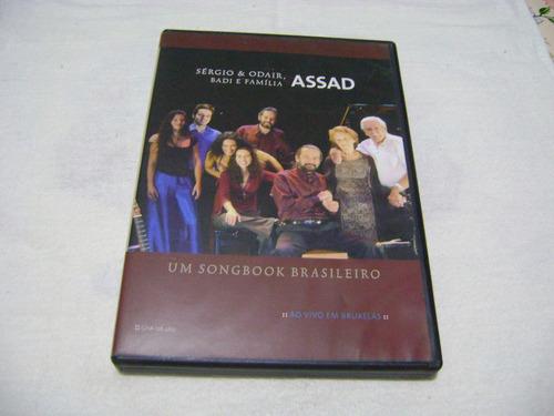 Dvd Sergio Odair Badi E Familia Assad Um Songbook Brasileiro Original