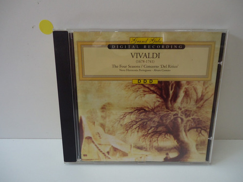 Cd Vivaldi - Grand Gala - By Trekus Vintage Original