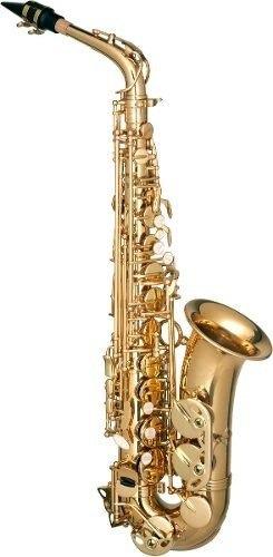 Ritmus : Hofma Hsa400 : Saxofone Alto Mib Dourado By Eagle