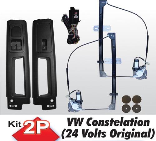 Vidro Eletrico Caminhão Vw Constellation 24v Trava Eletricas