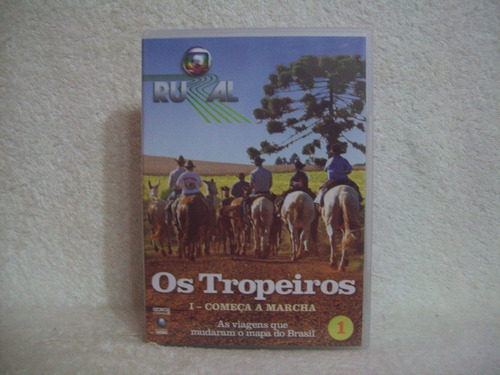 Dvd  Globo Rural- Os Tropeiros- Volume 1 Original
