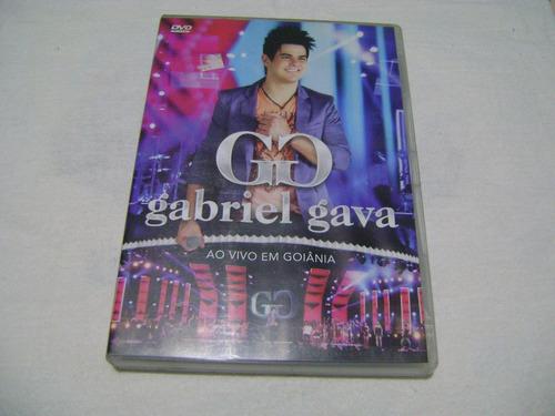 Dvd Gabriel Gava Ao Vivo Em Goiania Original