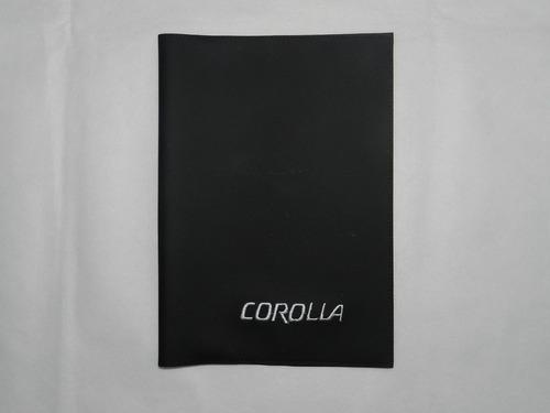 Capa Porta Manual Do Proprietário Toyota Corolla