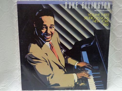 Lp Duke Ellington-volume Three New York 1962-wea-1989 Original