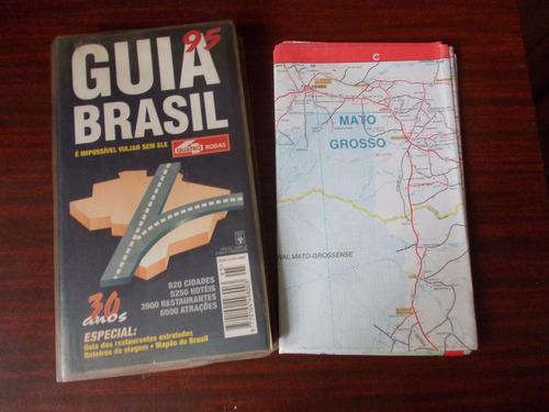 Guia Quatro Rodas Brasil 1995 - 30 Anos.820 Cidades.6500 Atr