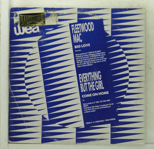 Lp Promo Wea Disco N°16 - Internacional - De021 Original
